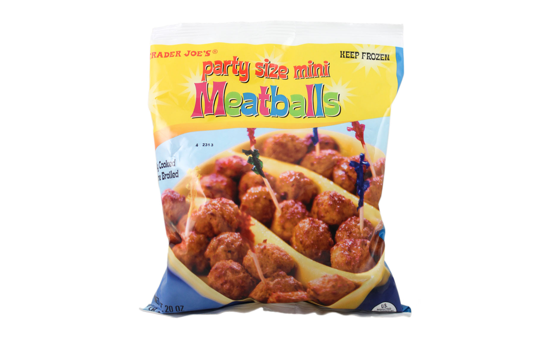 Trader Joe's products/editors' picks - Trader Joe's Party Size Mini Meatballs
