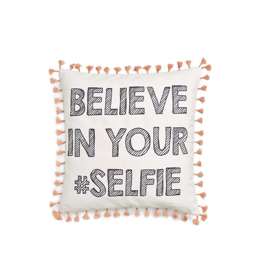 Be Your Selfie Pillow