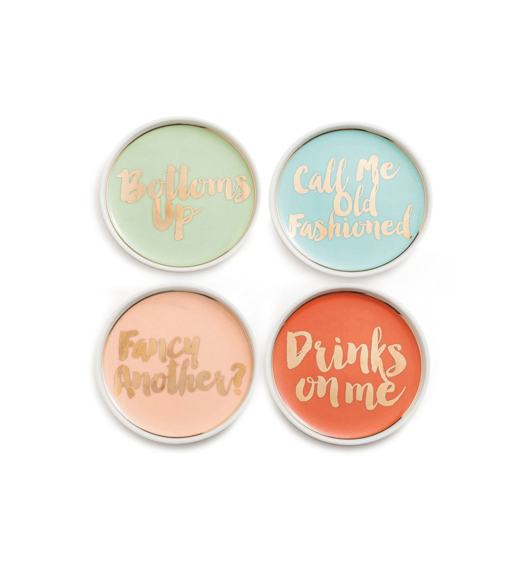 Cocktail Party Coasters