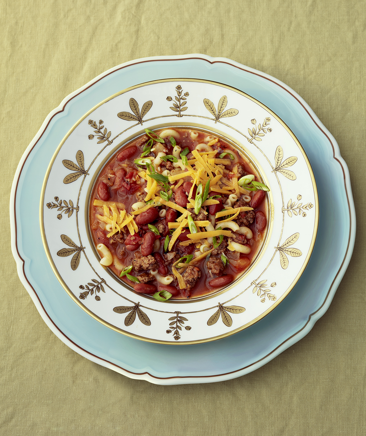 Classic American Chili Mac With Elbows