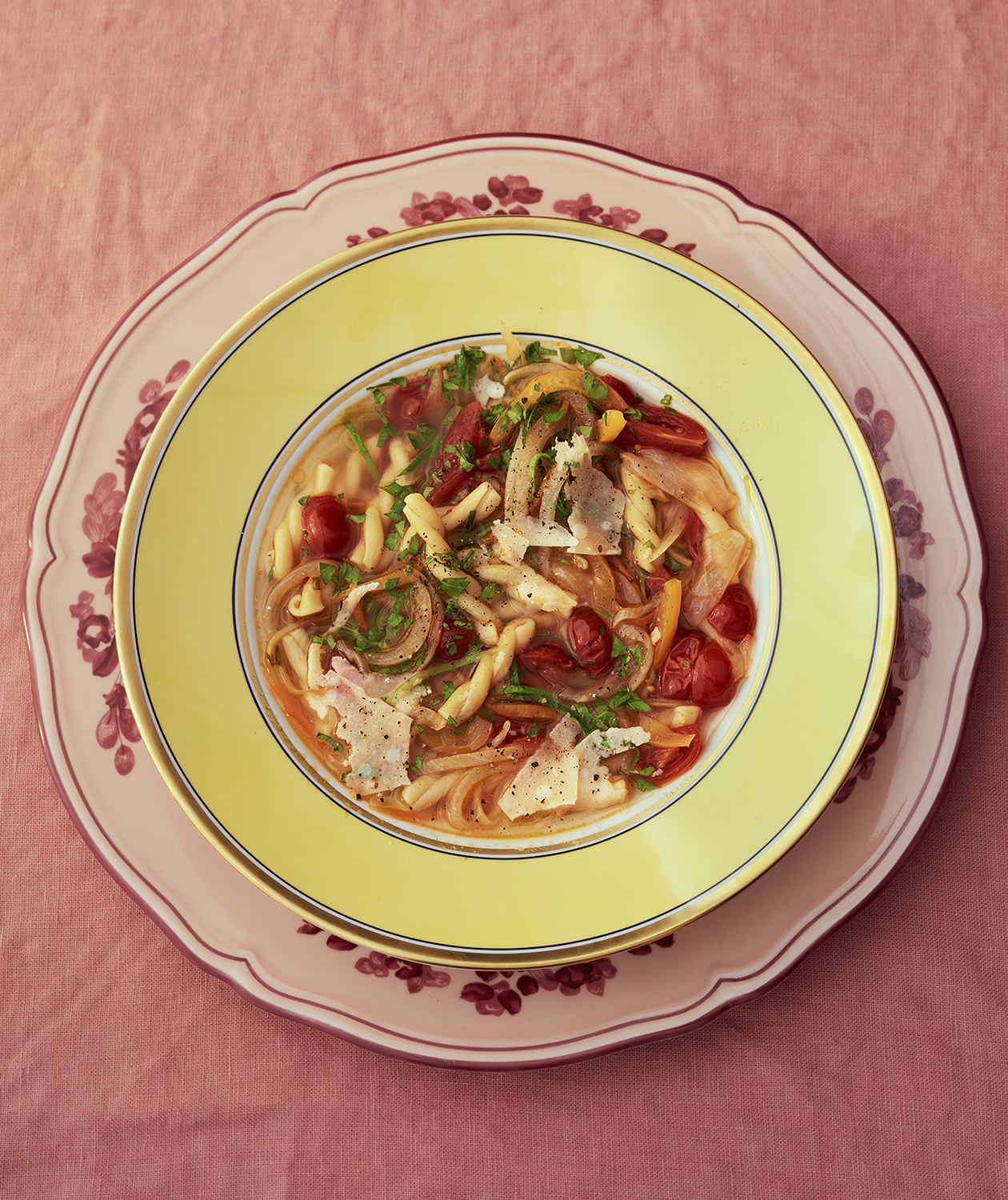 Spring Minestrone With Gemelli
