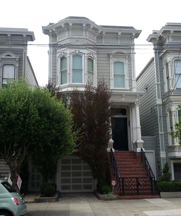 Full House house in San Francisco