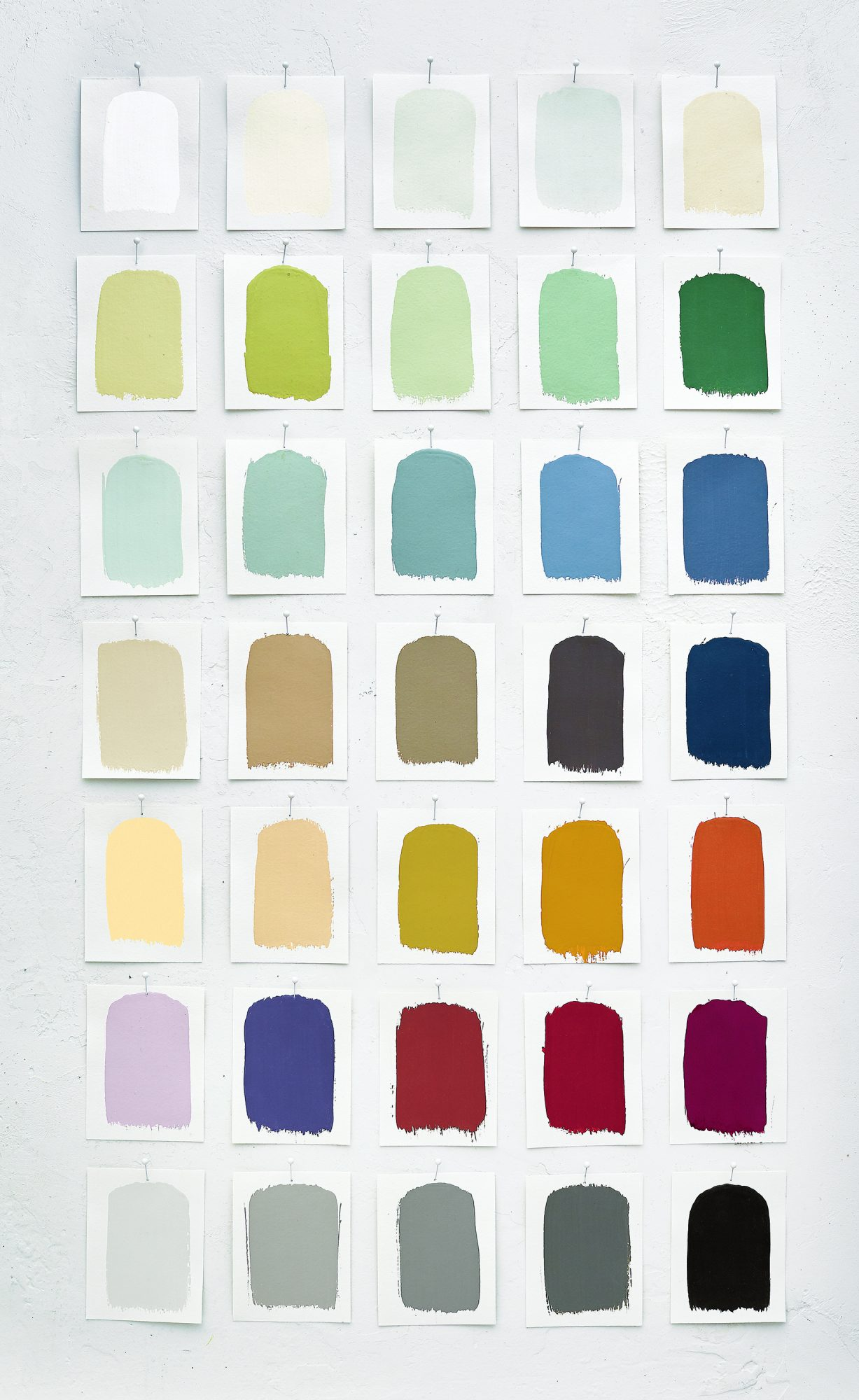 Crate and Barrel Paint Swatches