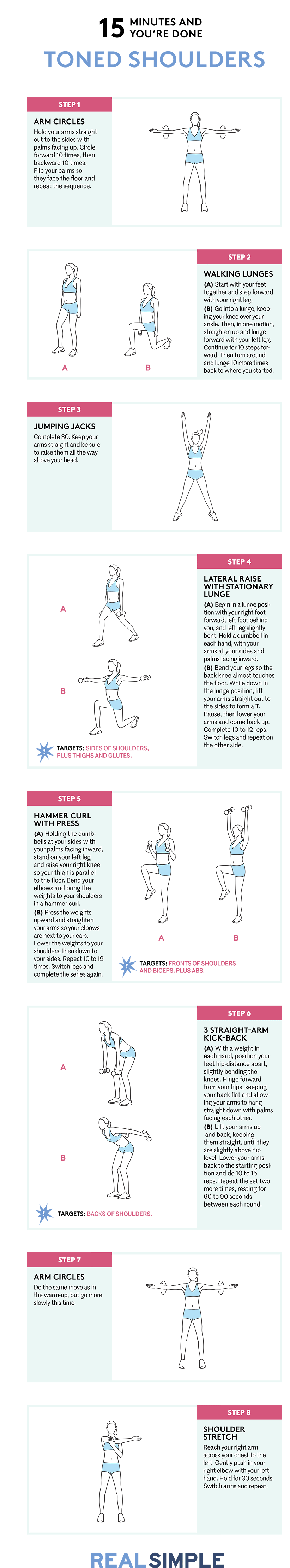 Toned Shoulders Workout