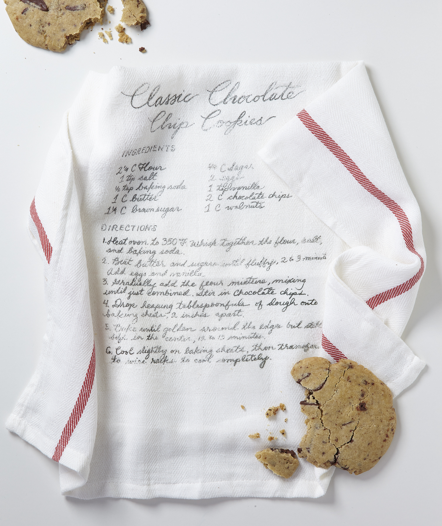 Recipe Dish Towel
