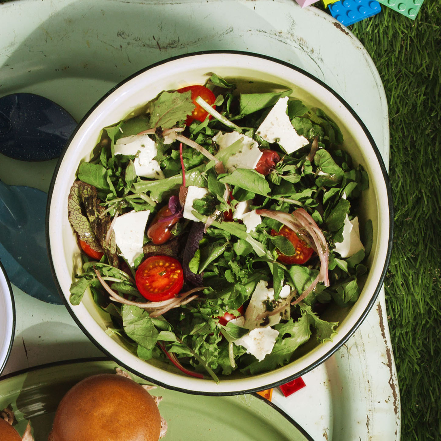 Watercress Salad With Olives and Tomatoes