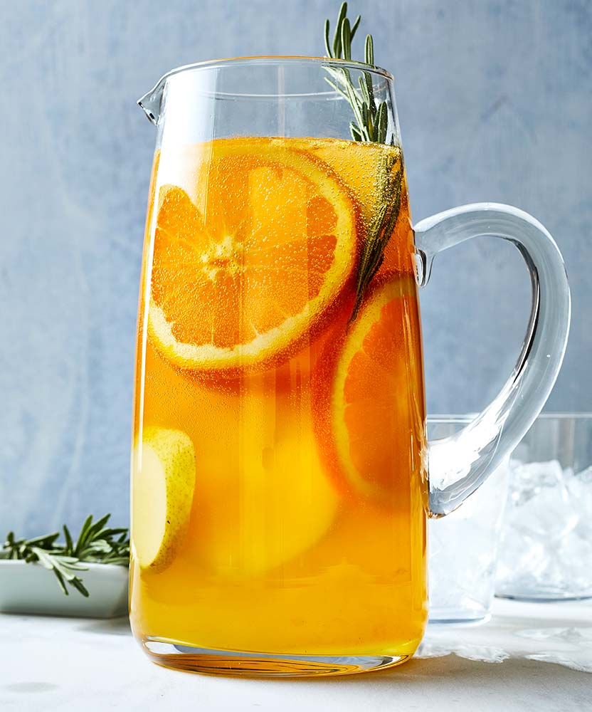 Pear and Rosemary Sangria