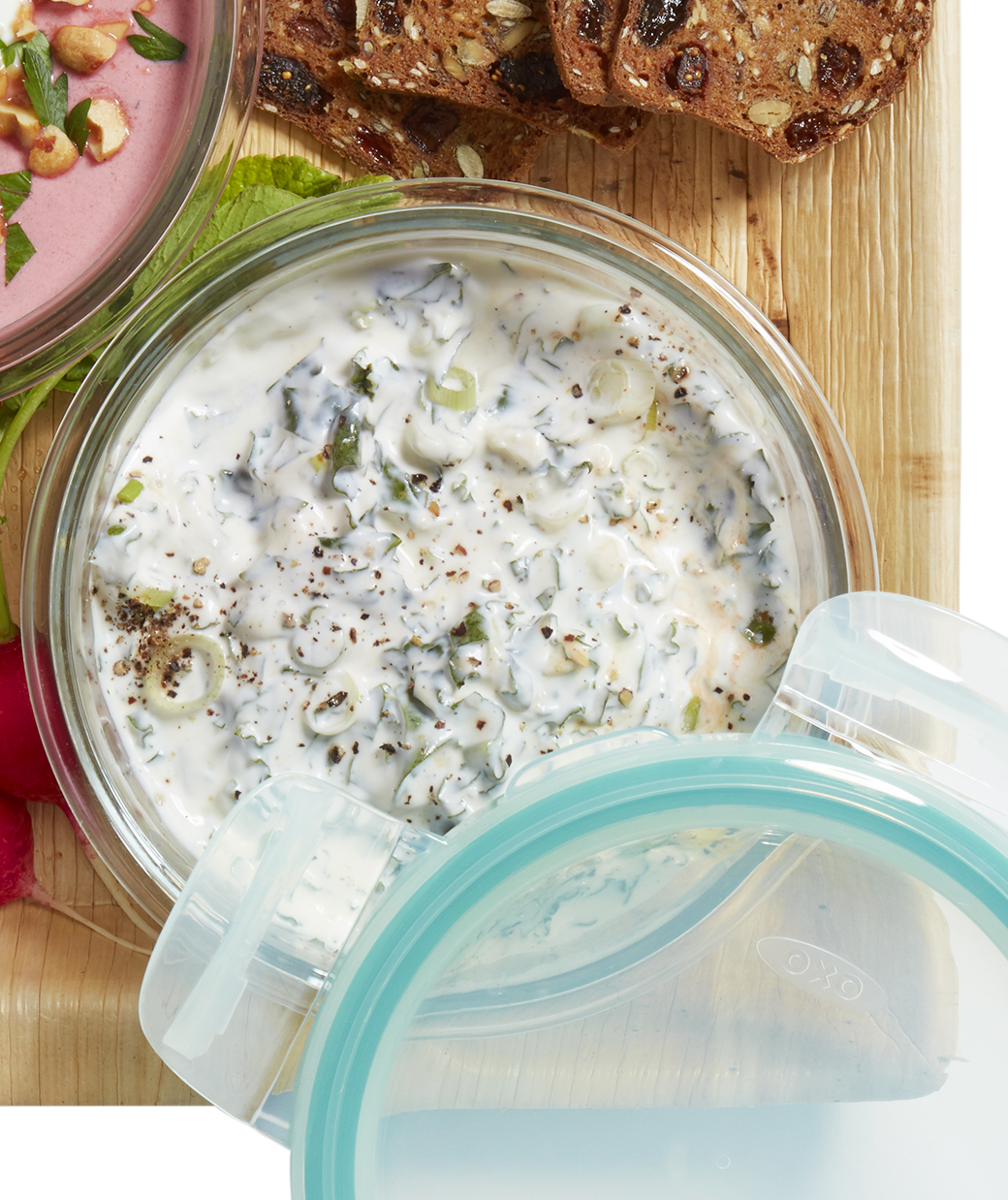Buttermilk Ranch and Kale Dip