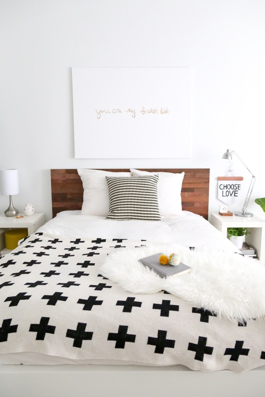 IKEA Stikwood Headboard DIY