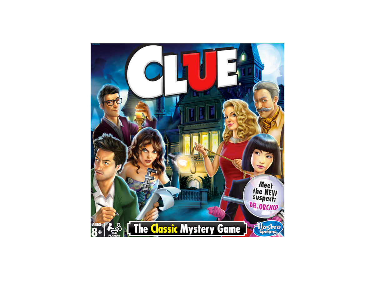 New Clue Game