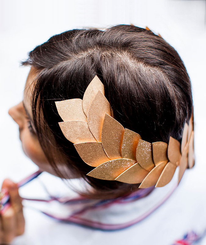 Laurel Head Wreath