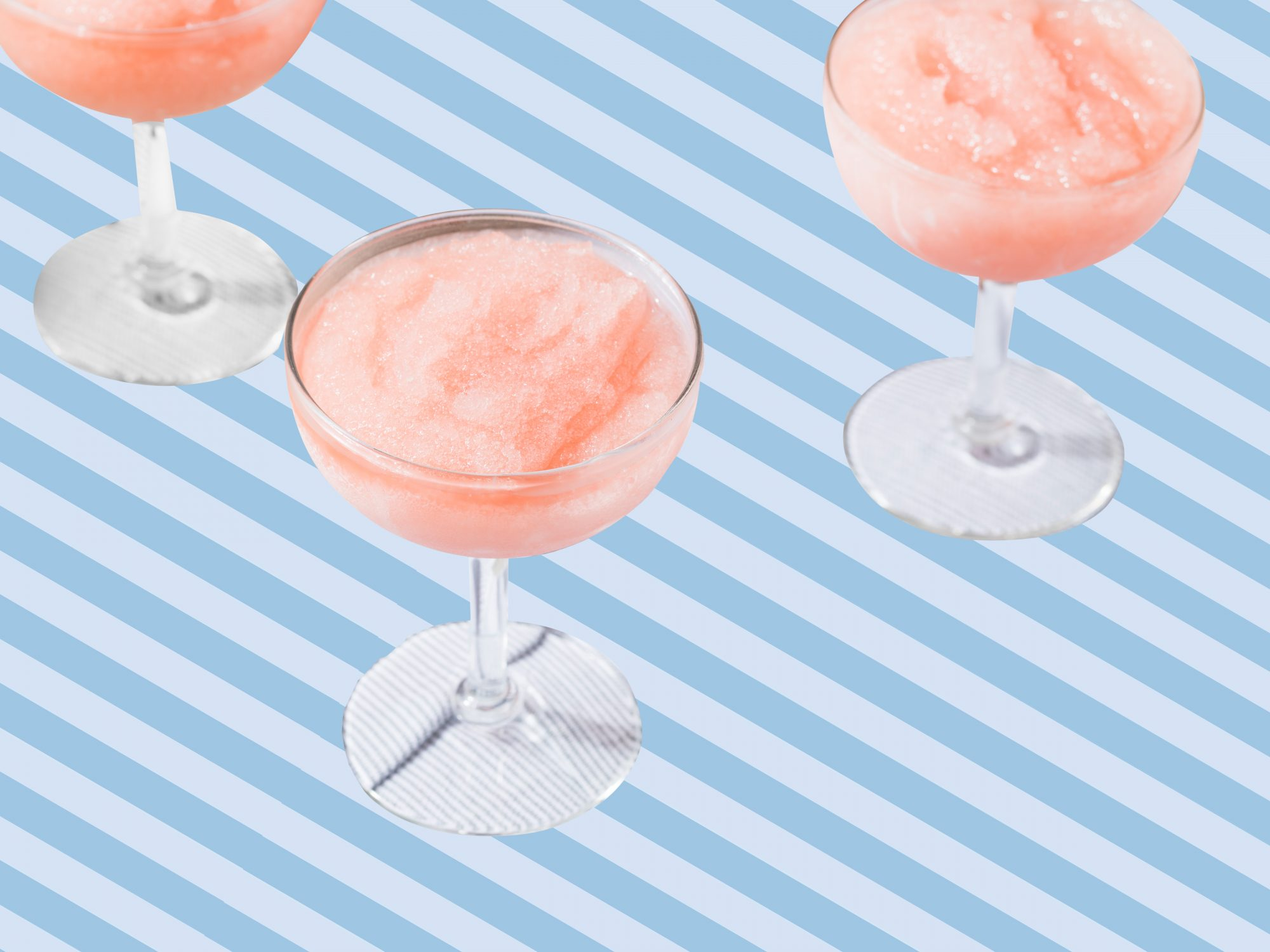 The Easiest-Ever Way to Make Frosé (Frozen Rosé) At Home