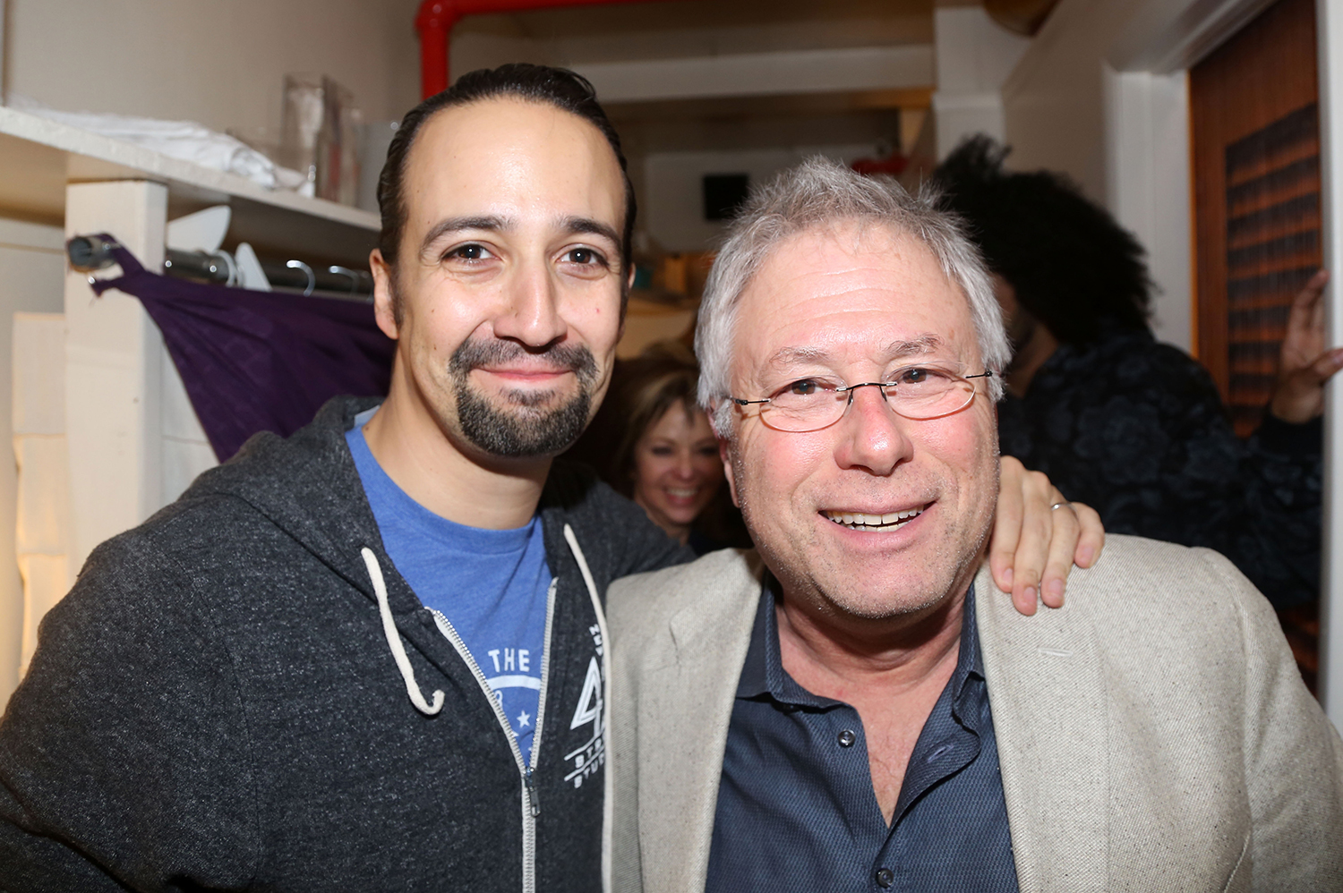 Lin-Manuel Miranda and Alan Menken Little Mermaid