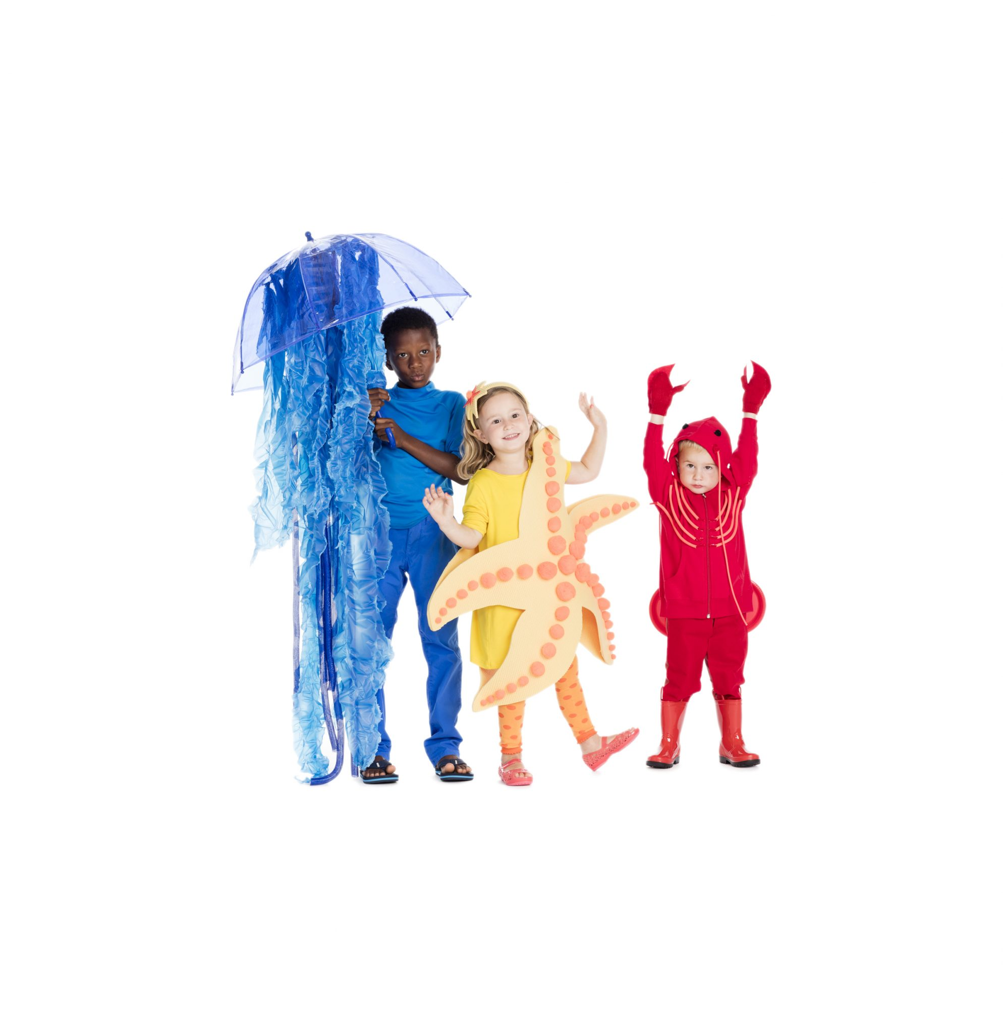 Group Halloween costumes - under the sea