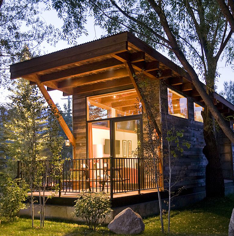 Ski Cabin in Jackson Hole, Wyoming