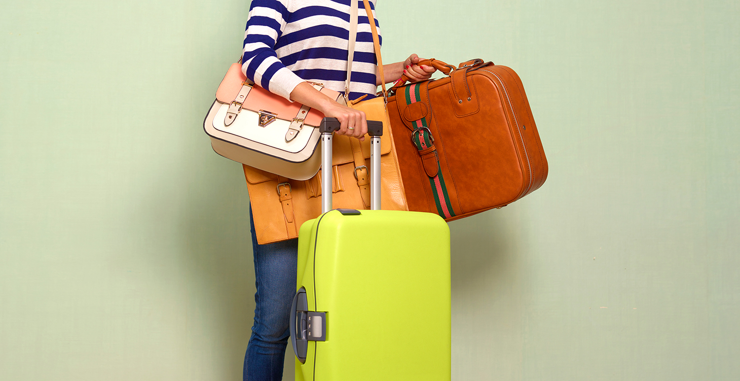 Traveller With Luggage