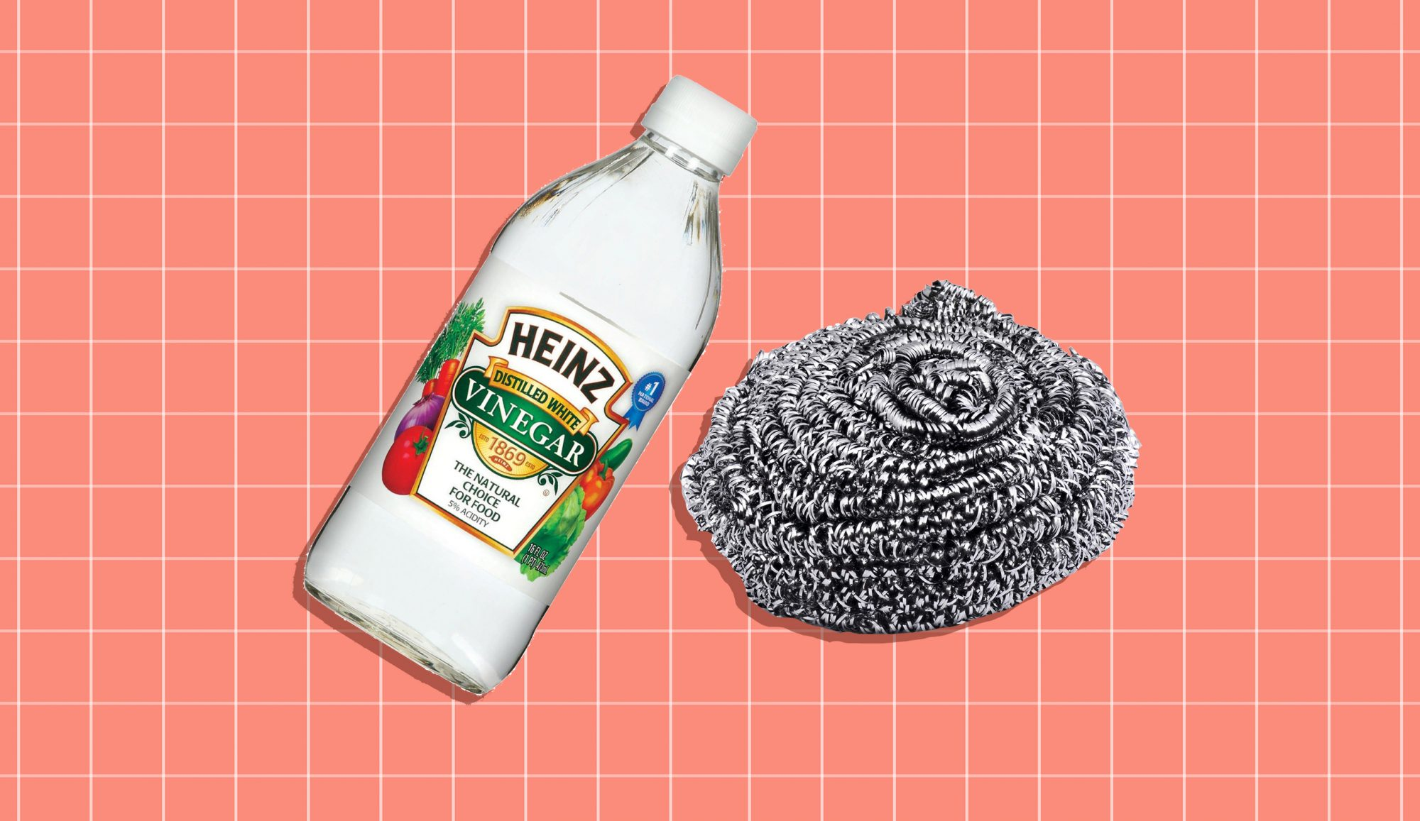 Things Only Professional Cleaners Know, vinegar and stainless steel cleaner
