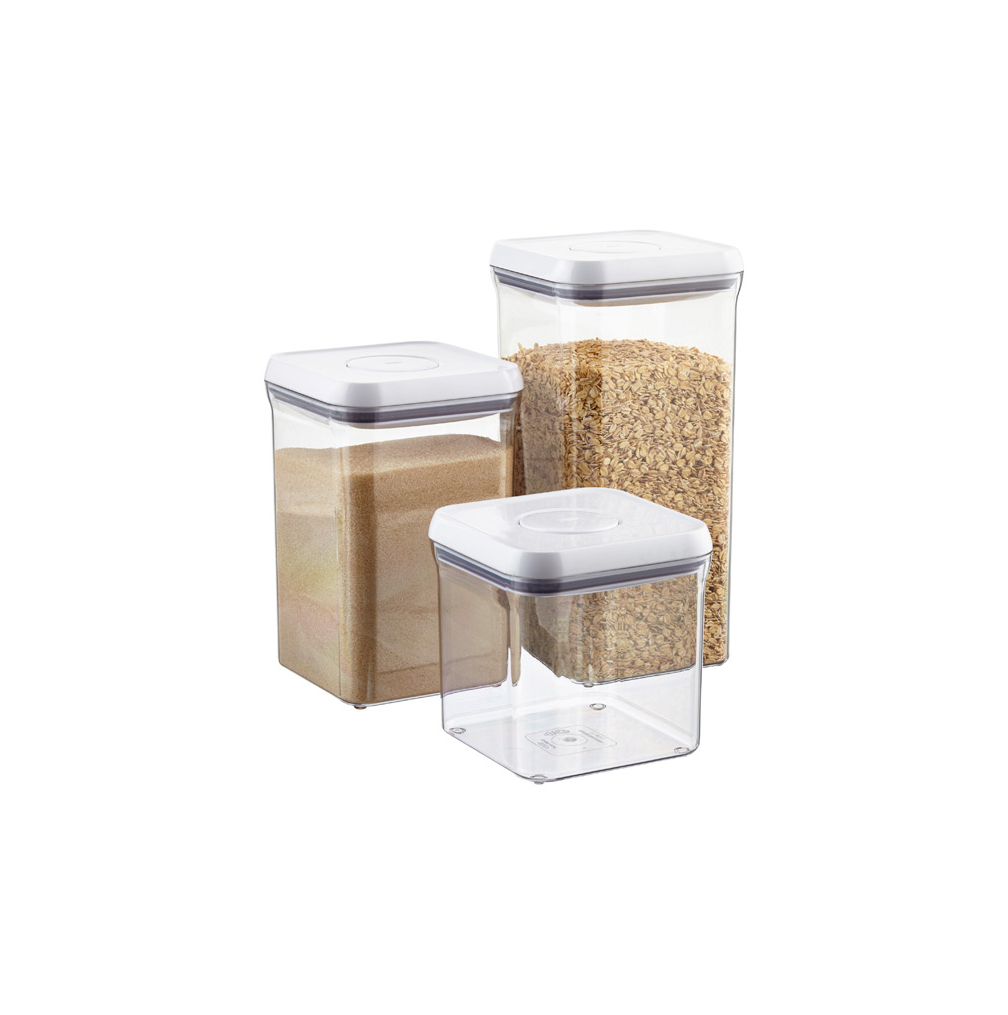 "Good Grips 6"" Square POP Canisters for Kitchen Storage"