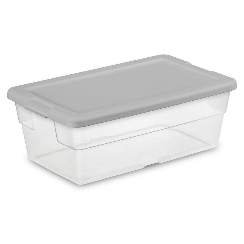 Sterilite Six-Quart Storage Box
