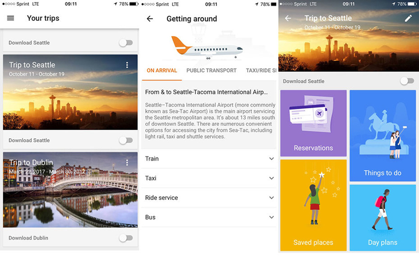 Google Launches New Traveling App