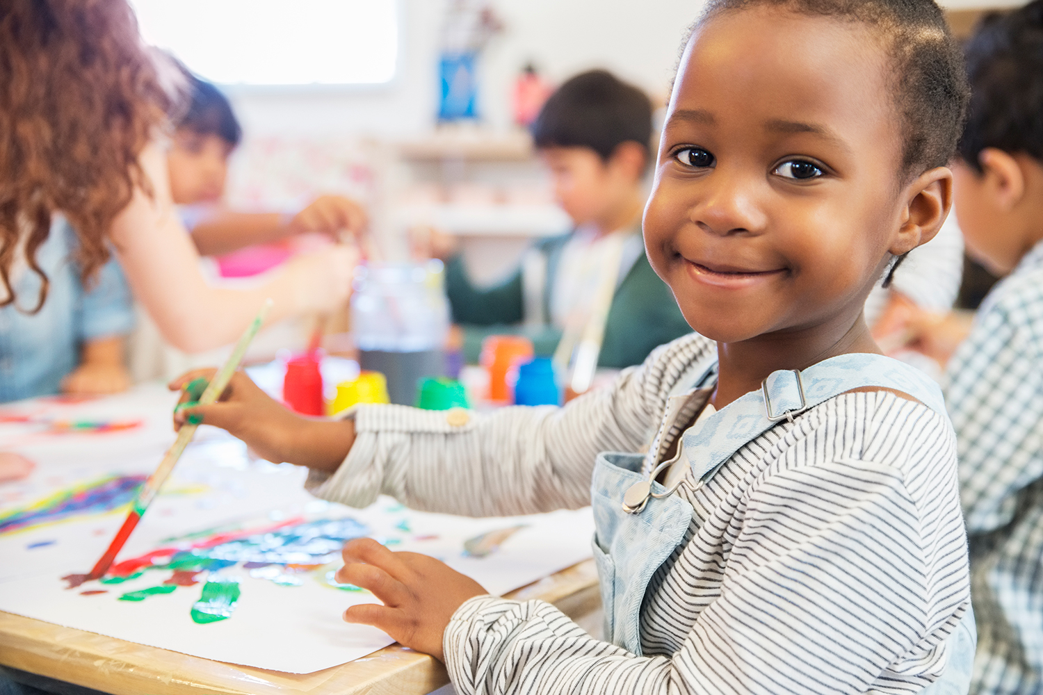 Child Painting Daycare