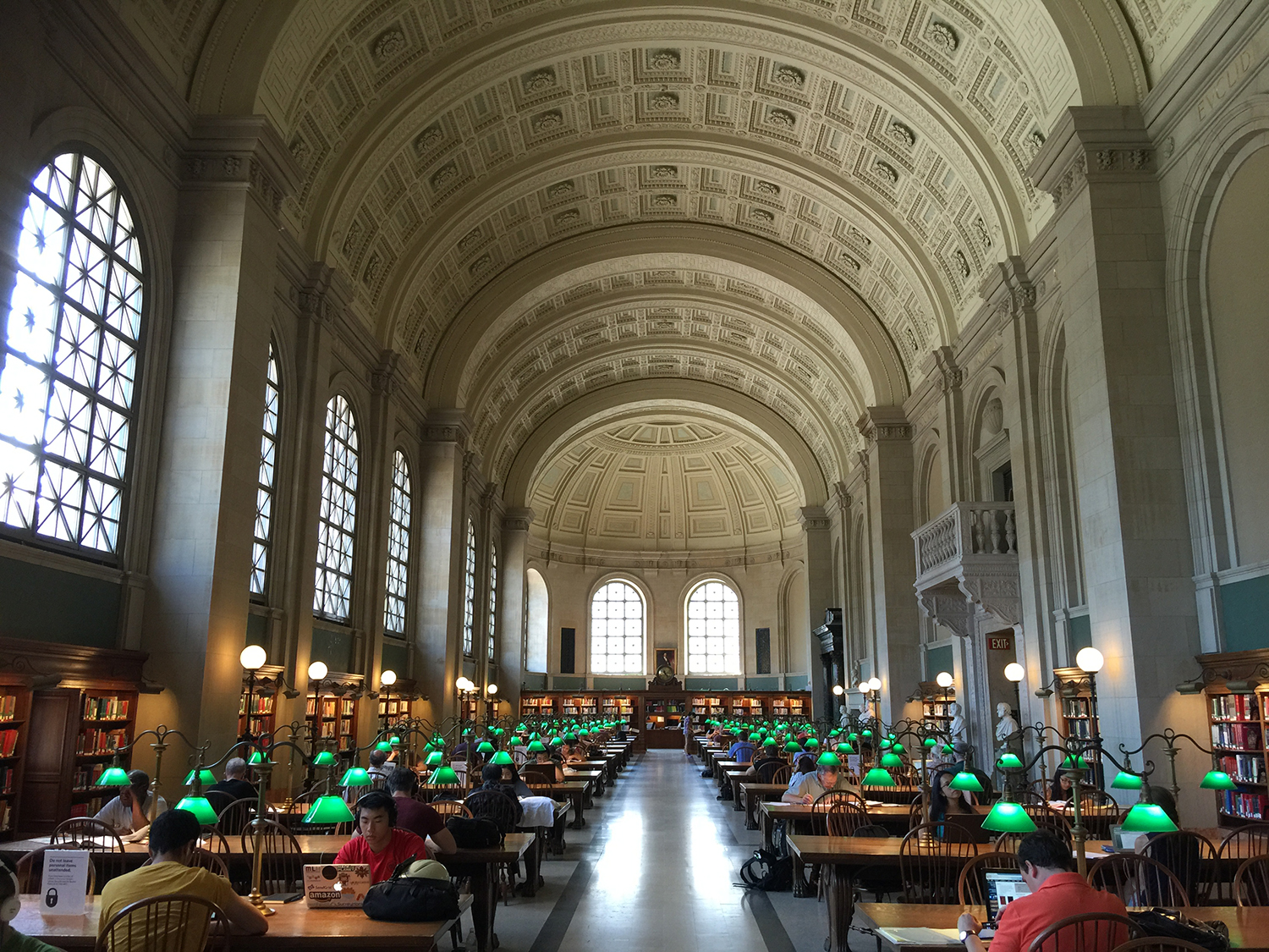 Boston Public Library Inside