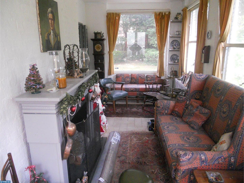 grace kelly house sitting room