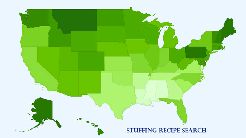 Stuffing Recipe Research