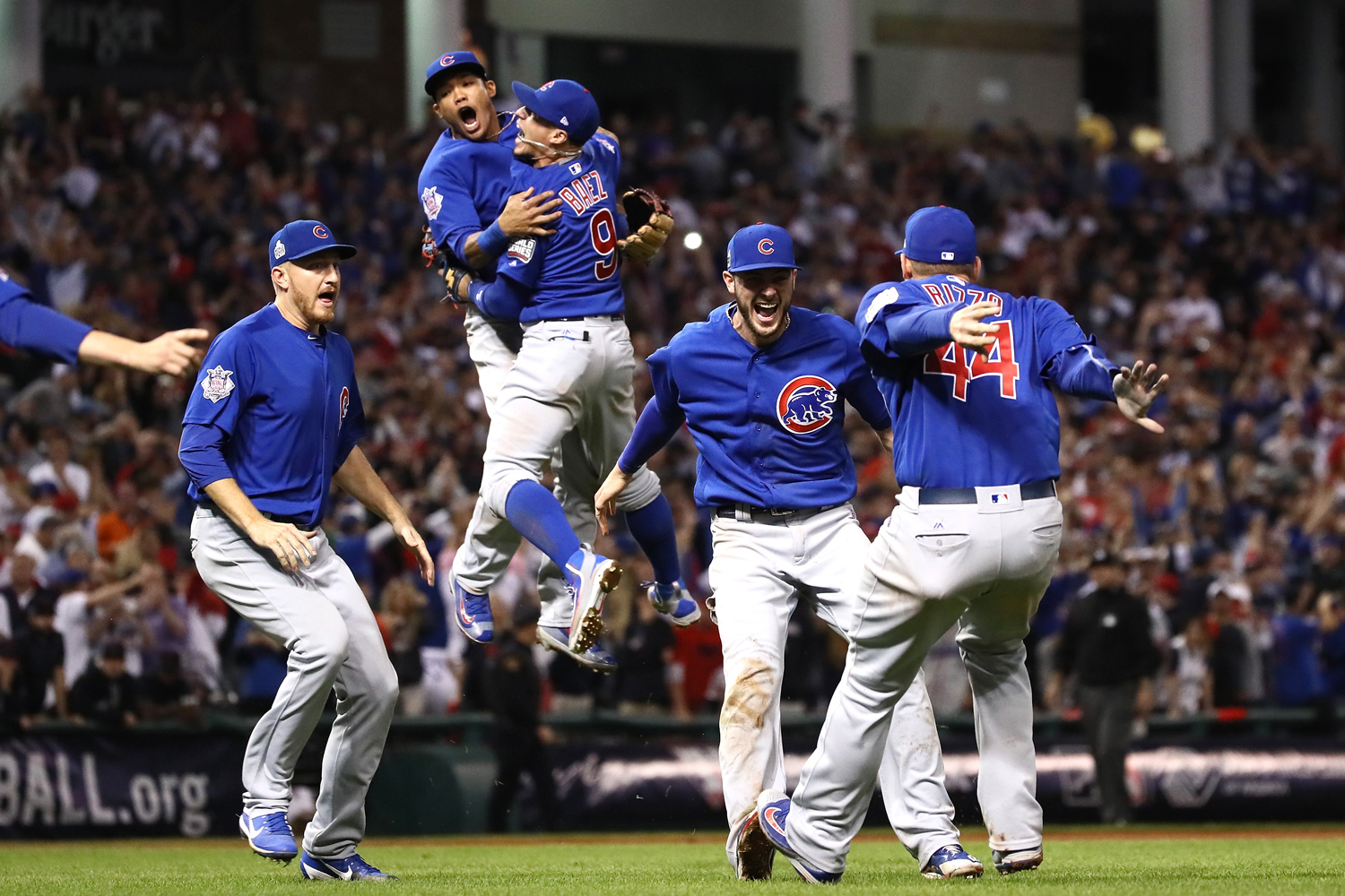 Cubs win the World Series