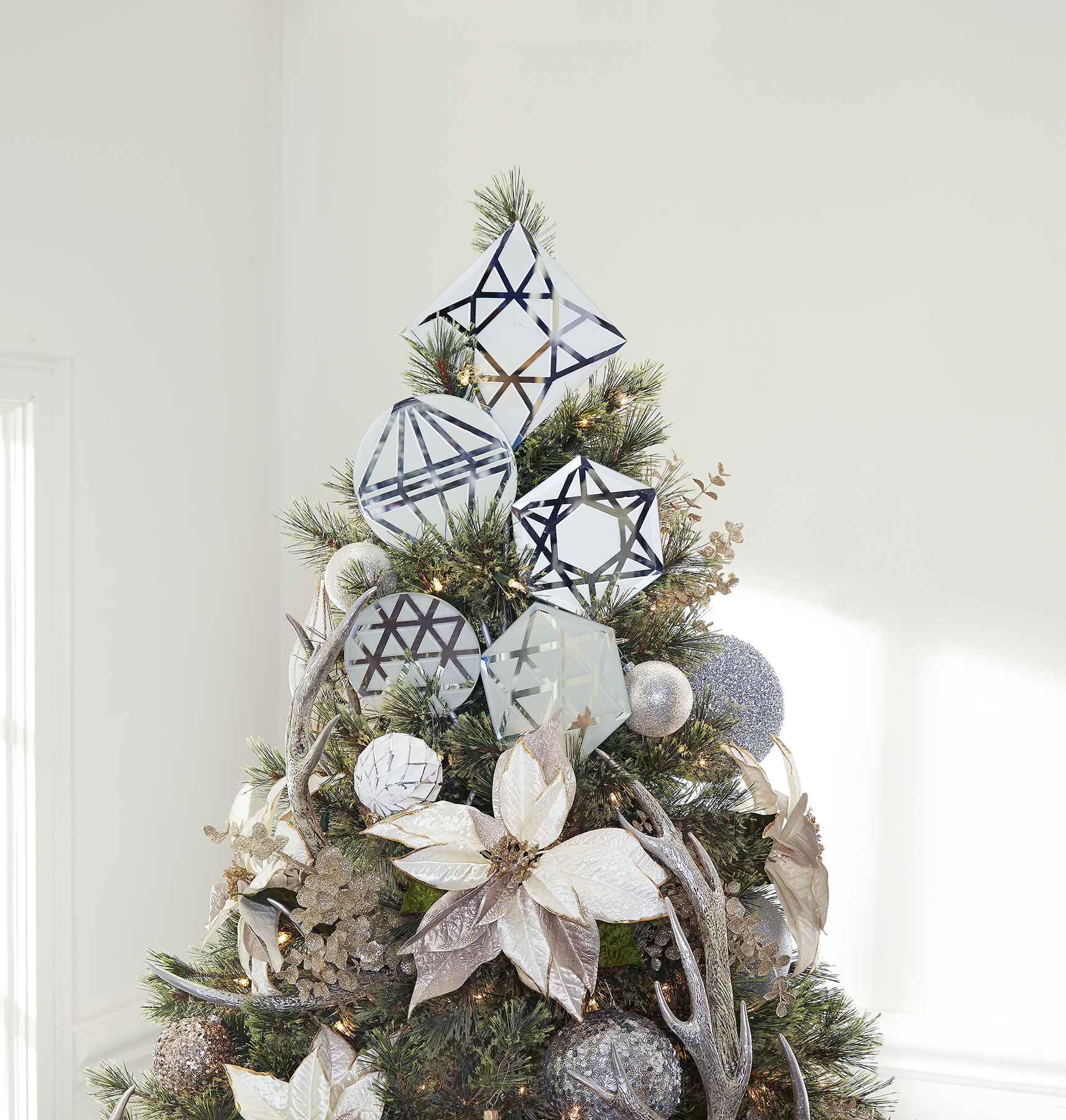 Frosted Glass Tree Topper