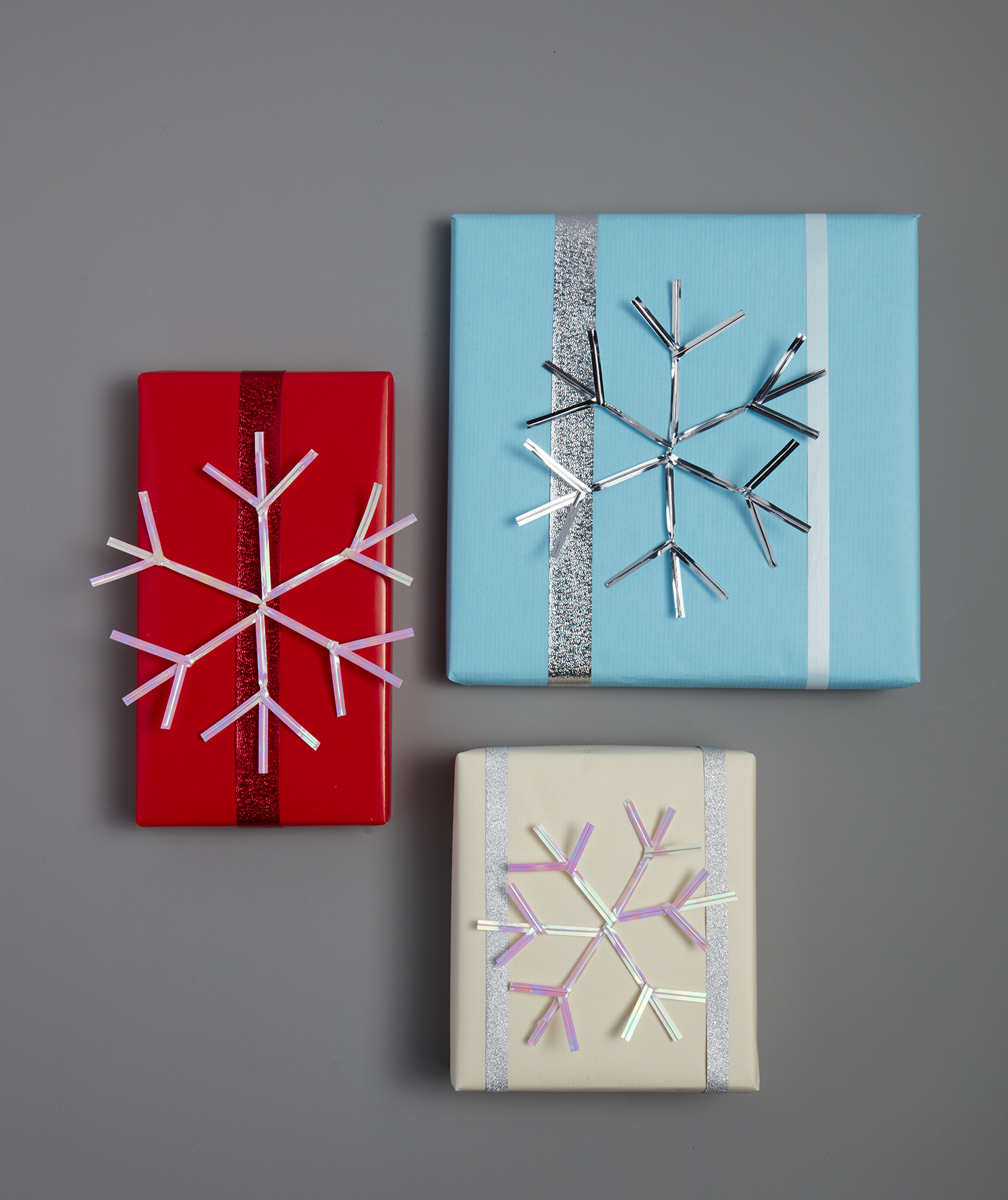 Snowflake Present Toppers