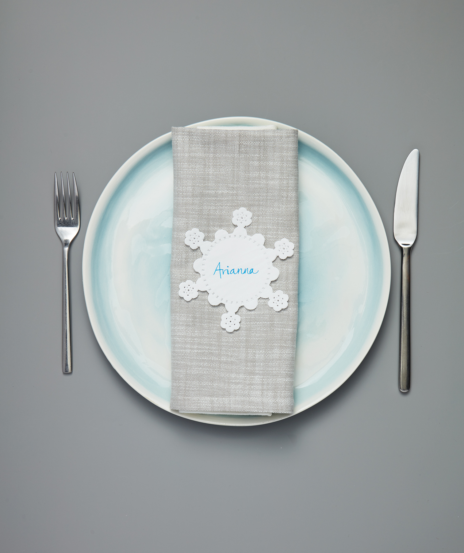 Snowflake Place Card