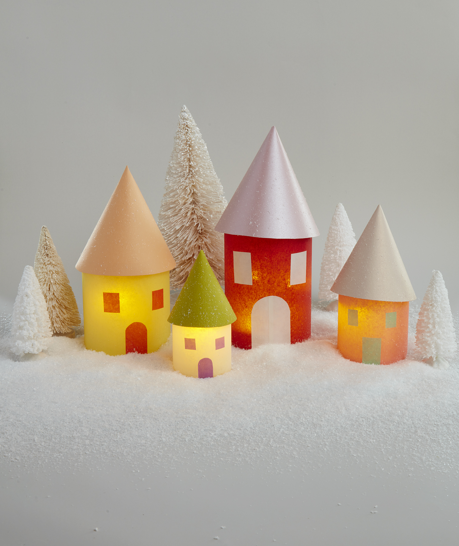 Christmas crafts ideas - Christmas Village