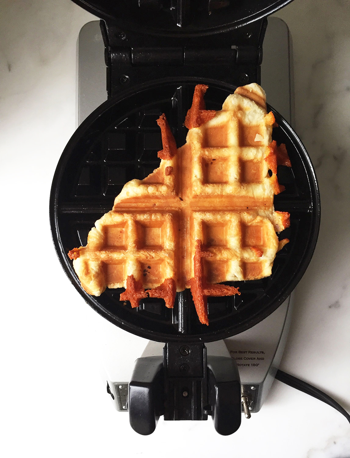 Puff Pastry Waffle