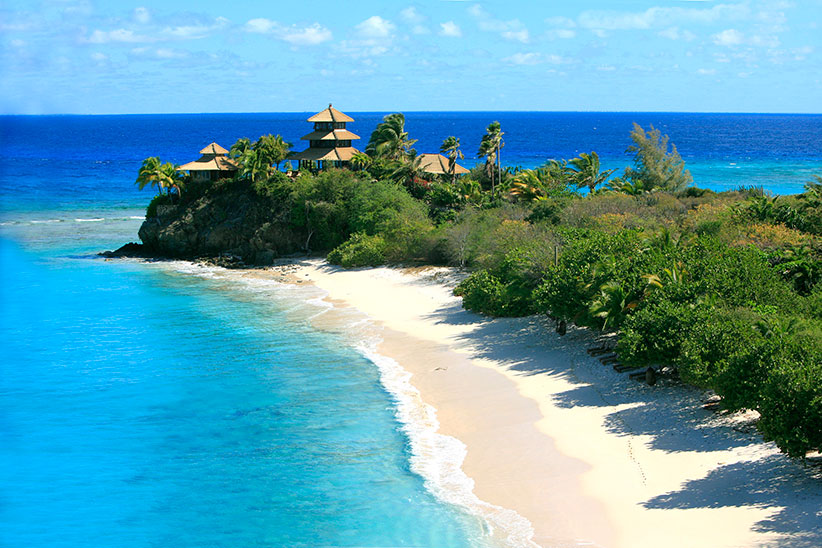 Necker Island Aerial View