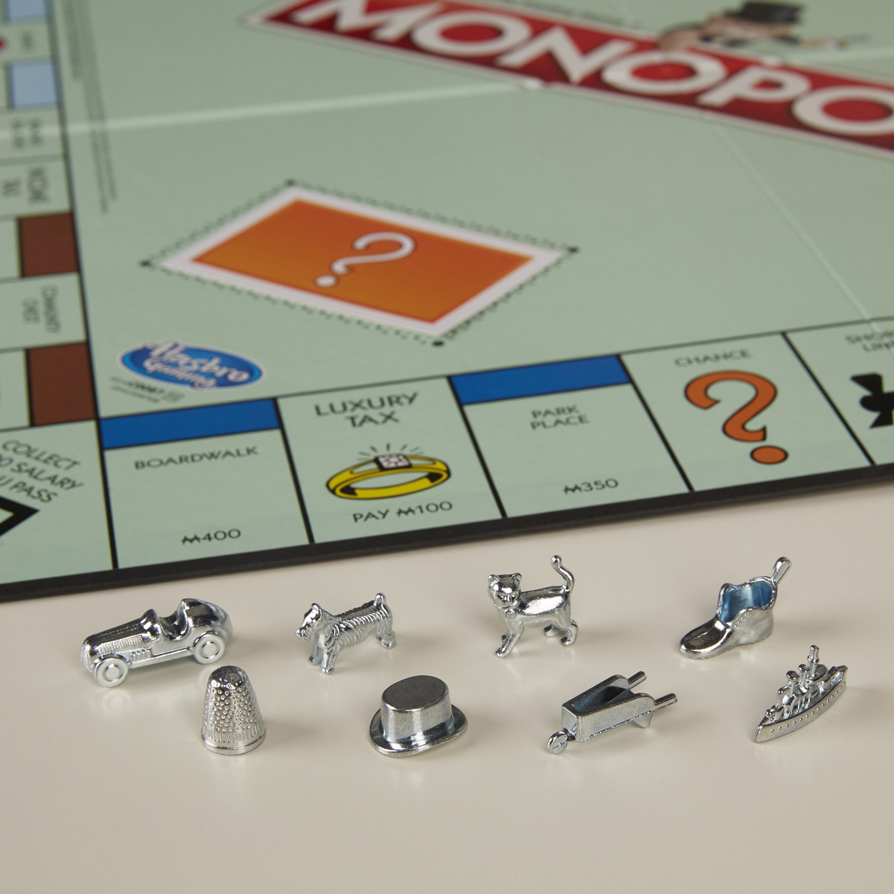 Monopoly Current Tokens
