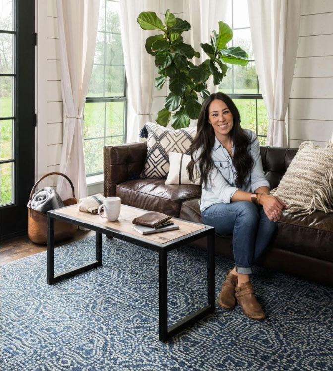 Joanna Gaines' Rug Collection Is Coming to Pier 1 Stores