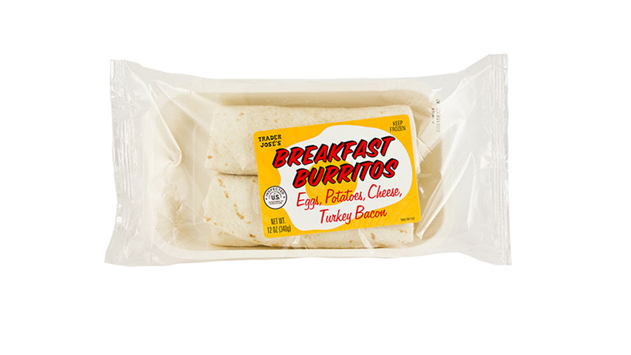 Trader Joe's Just Recalled Breakfast Burritos Because There Might Be Plastic In Them