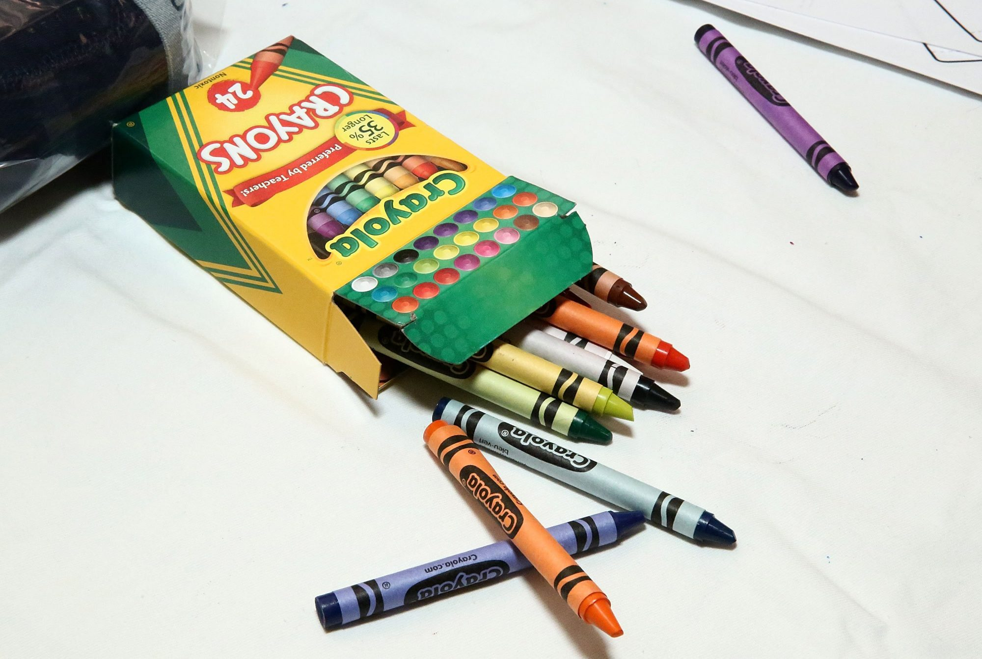 Crayola Is Retiring a Color from Its 24-crayon Box for the First Time in 100 Years