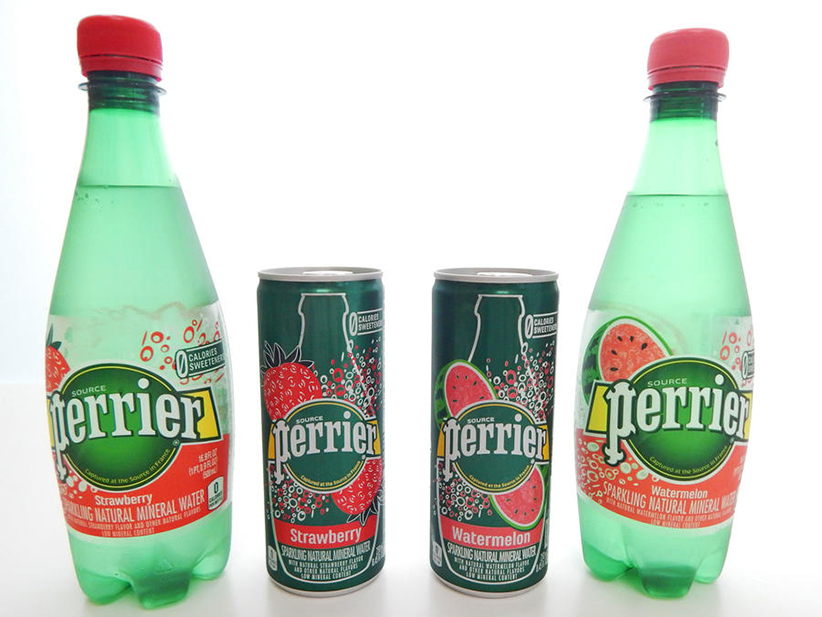 Flavored Perrier for Summer