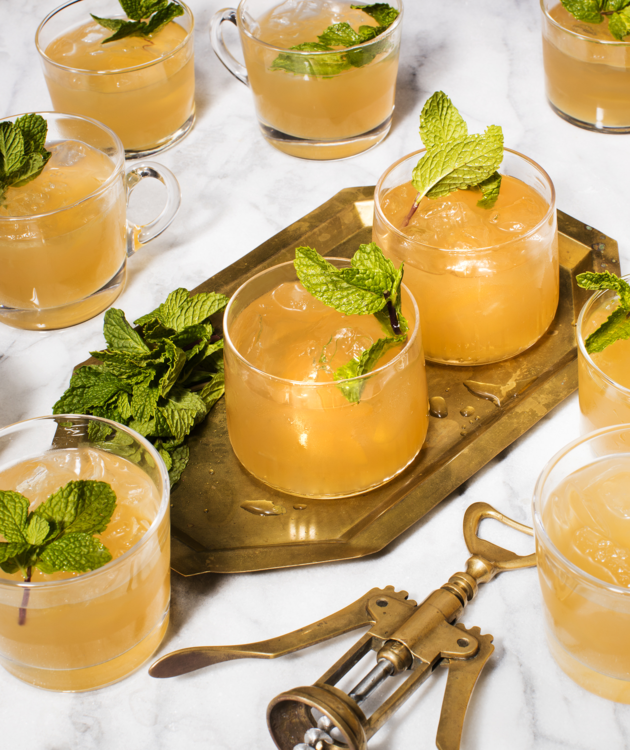 Minty Moscow Mule Punch