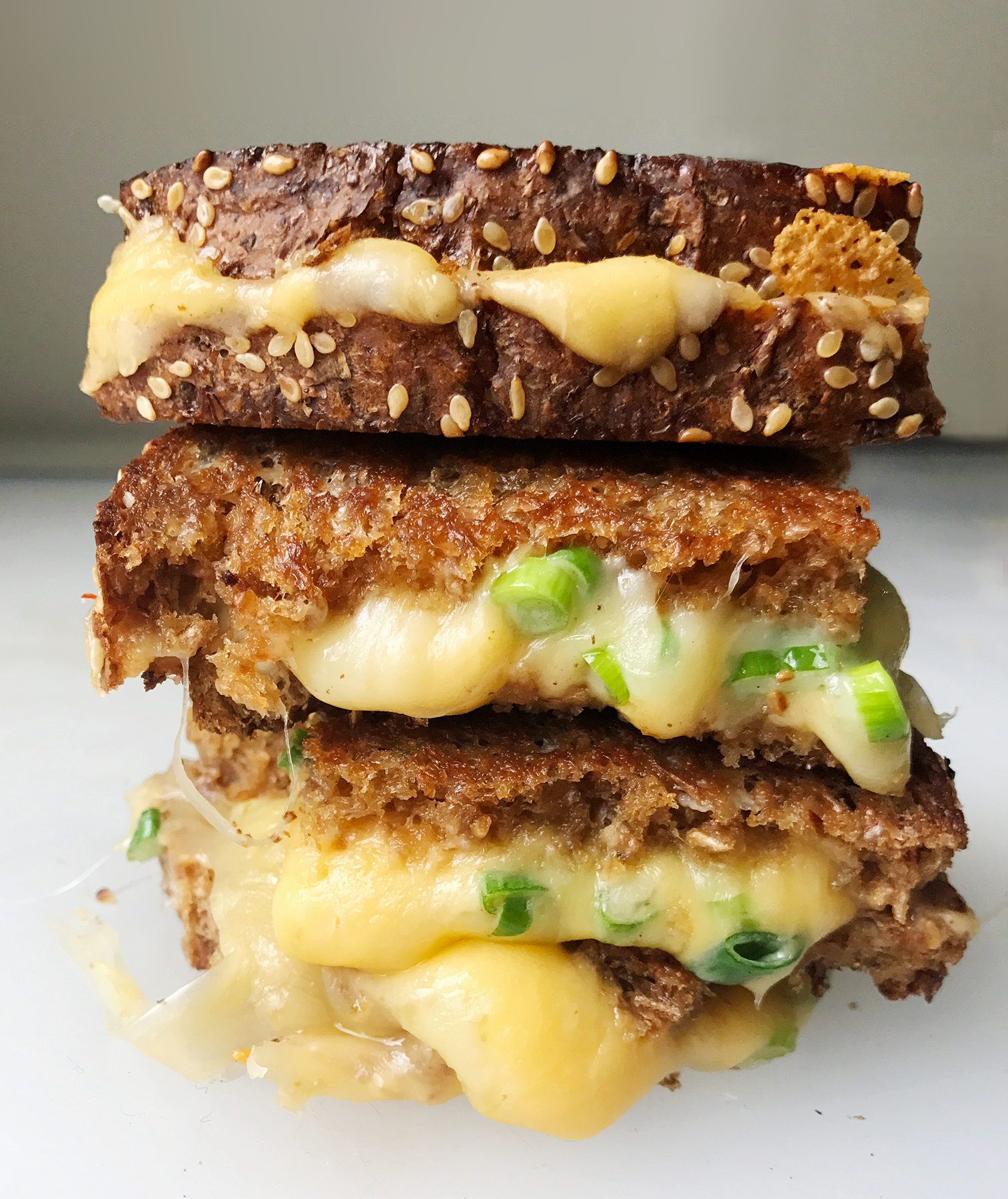Grilled Cheese Stack