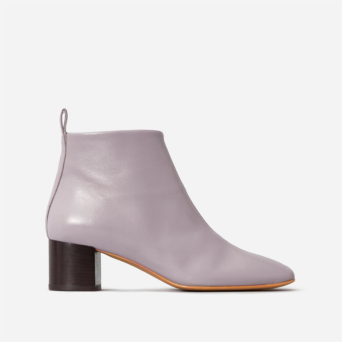 everlane the day boot lavender