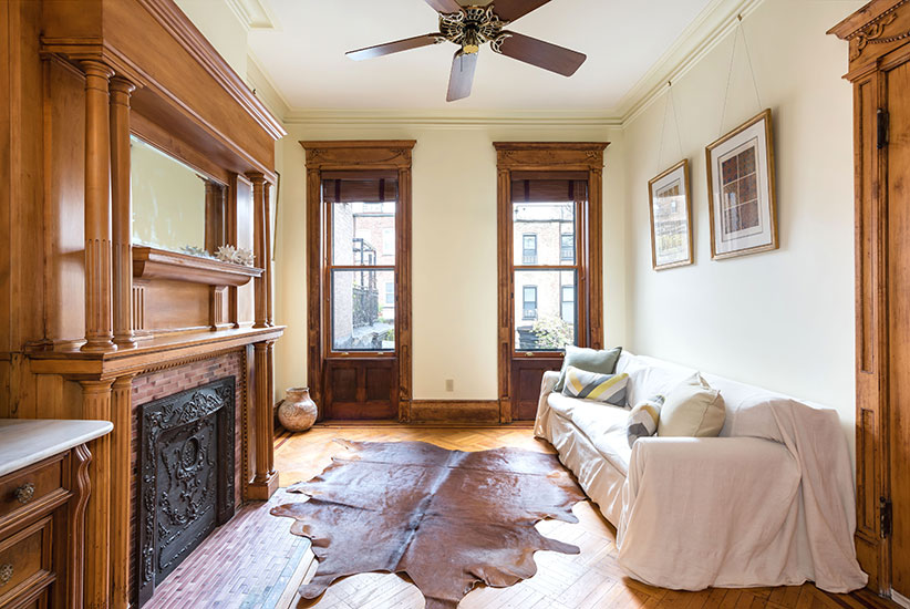 barack obama park slope living room