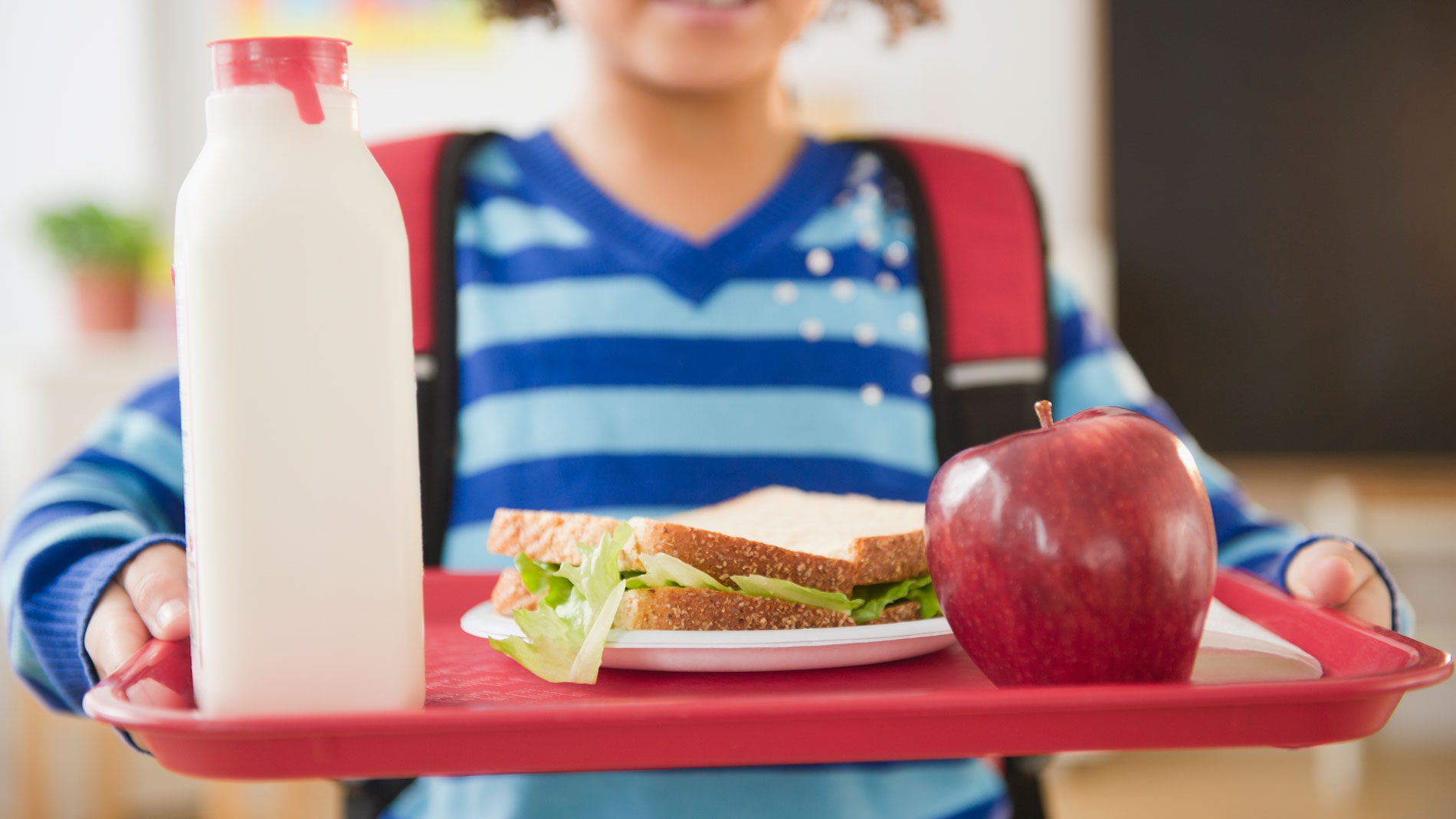 New Trump Administration Policies Allow White Bread and Chocolate Milk Back in Schools
