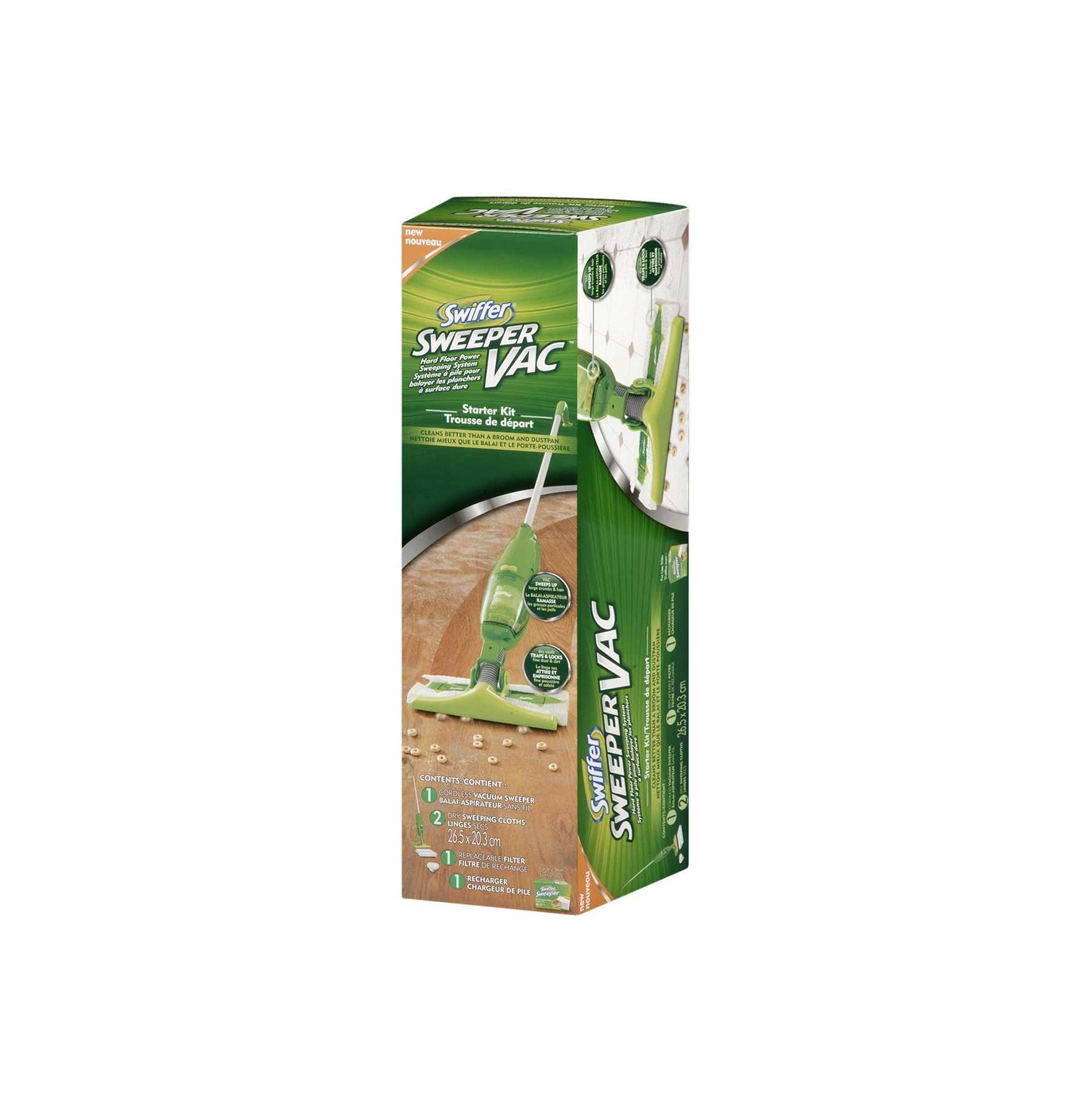 Swiffer Sweepervac Rechargeable Cordless Vacuum