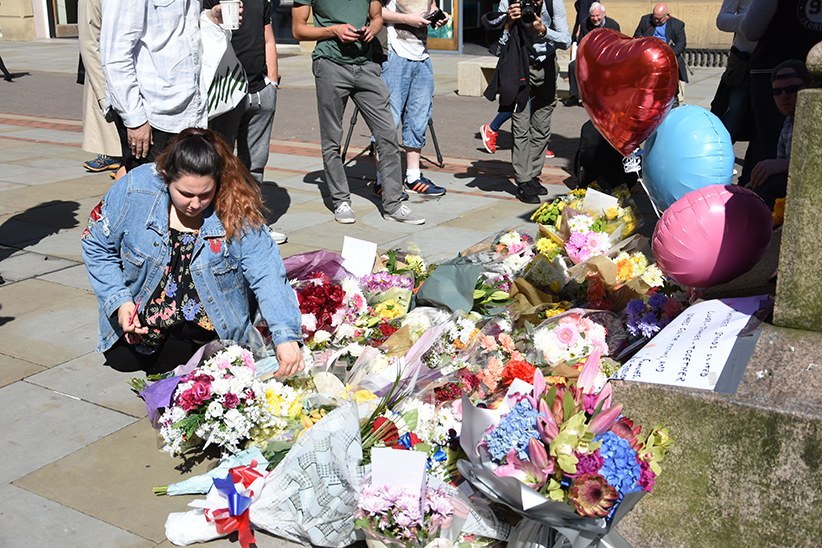 Flowers for Manchester