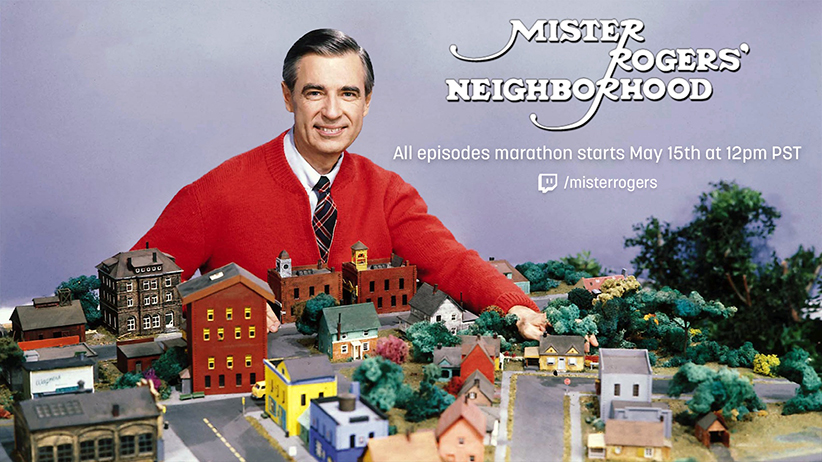 Amazon to Stream 'Mr. Rogers Neighborhood' in Twitch Marathon