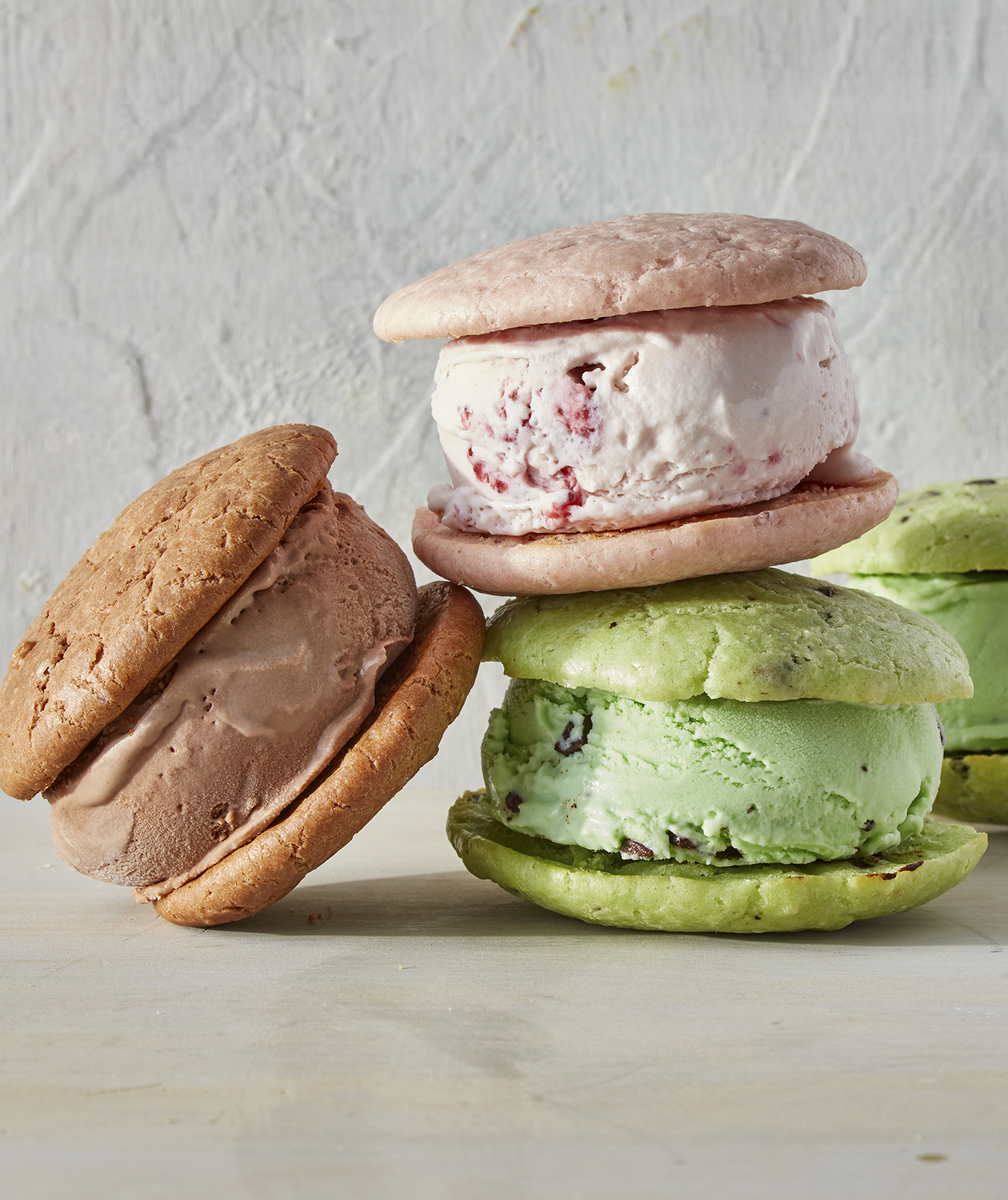 Melted Ice Cream Whoopie Pies