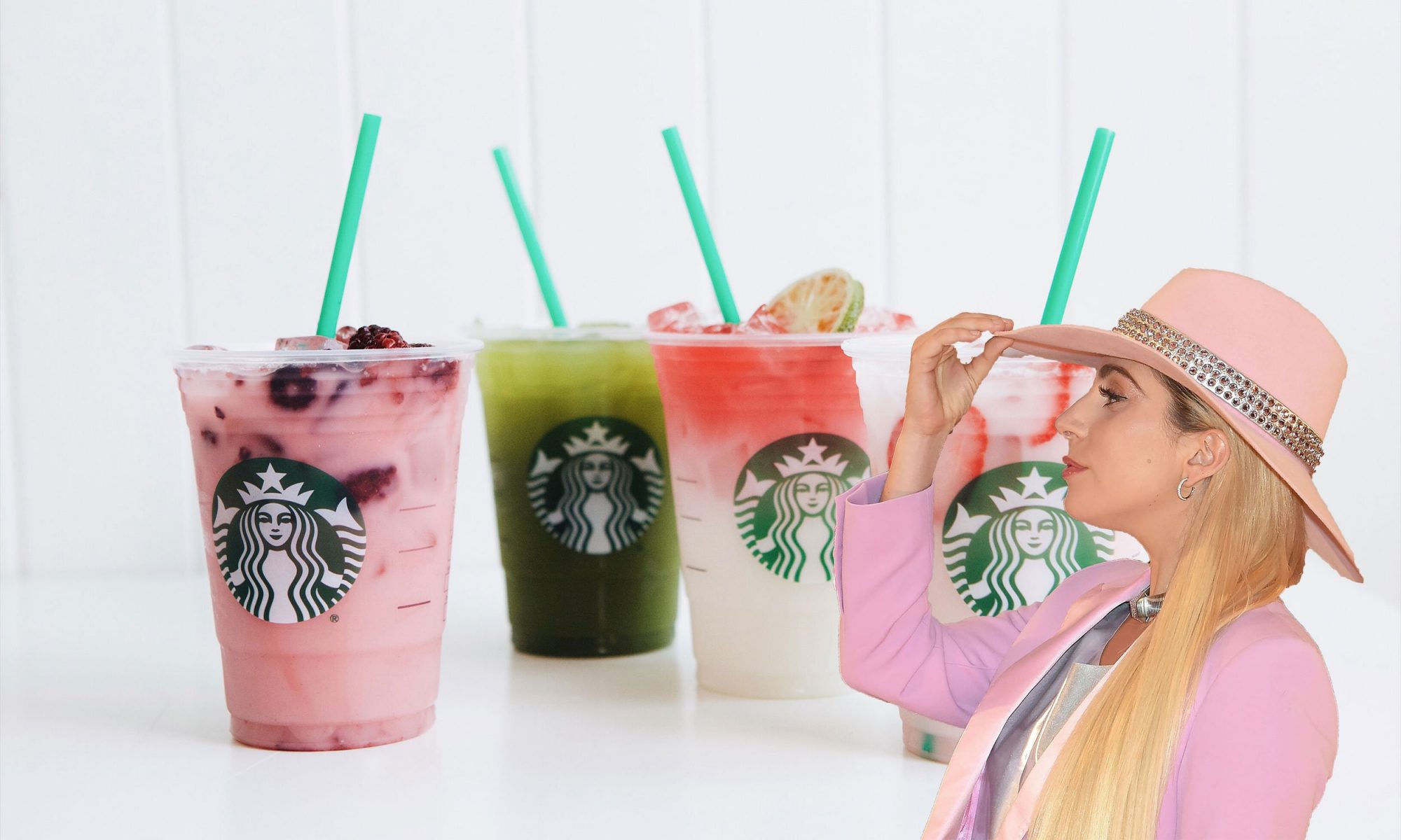 Lady Gaga Created These New Starbucks Drinks for a Good Cause
